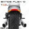 Bande TSSL Orange Rouge stop veilleuse clignotant pour moto
