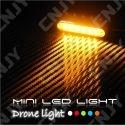 Drône Led Light - Mini feux léger pour éclairage et signalisation led sur drône 12V dc BLANC-ORANGE-BLEU-ROUGE-VERT