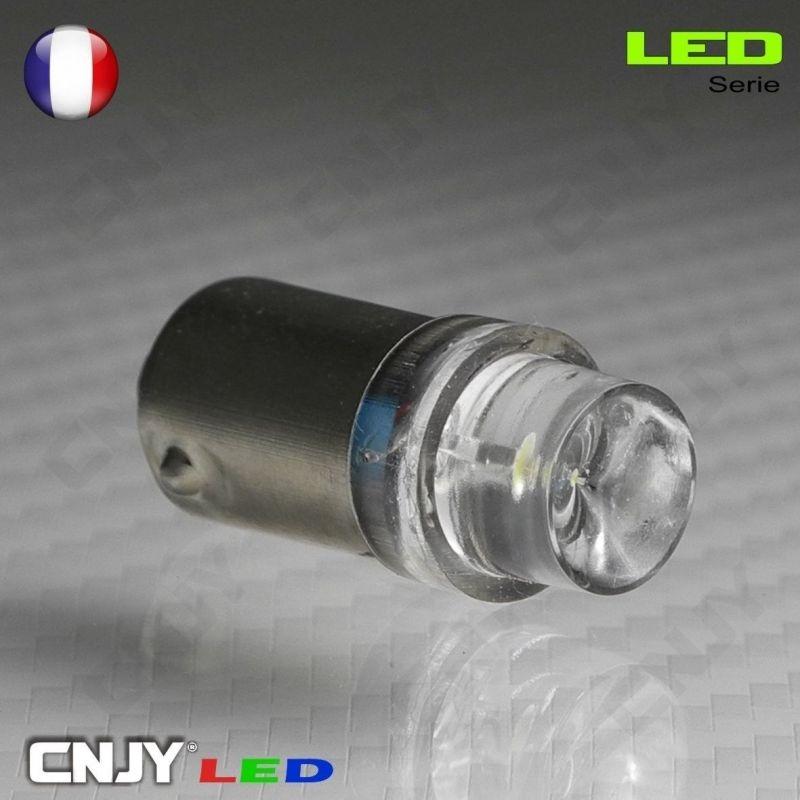 1 AMPOULE BA9S T4W 1 LED CONCAVE 12V POLARISEE