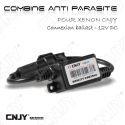 1 CABLE COMBINE AVEC FILTRE ANTI PARASITE - REDUCER BRUIT PARASITER HID-V2