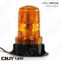 Gyrophare led à éclat 16W orange idéal pour chariot élévateur 12v 24v