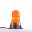 Gyrophare à éclat 5W orange idéal pour chariot élévateur