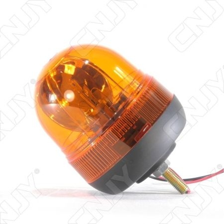 Gyrophare rotatif halogène orange 55w obus à visser ECE R65