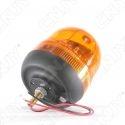 Gyrophare rotatif halogène orange 55w obus à visser ECE R65 12V