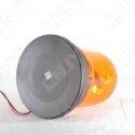 Gyrophare rotatif halogène orange 55w ogive magnétique ECE R65 24V