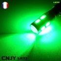 1 AMPOULE LED W5W T10 12V 10LED OSRAM 5W + LENTILLE ANTI ERREUR CANBUS ODB