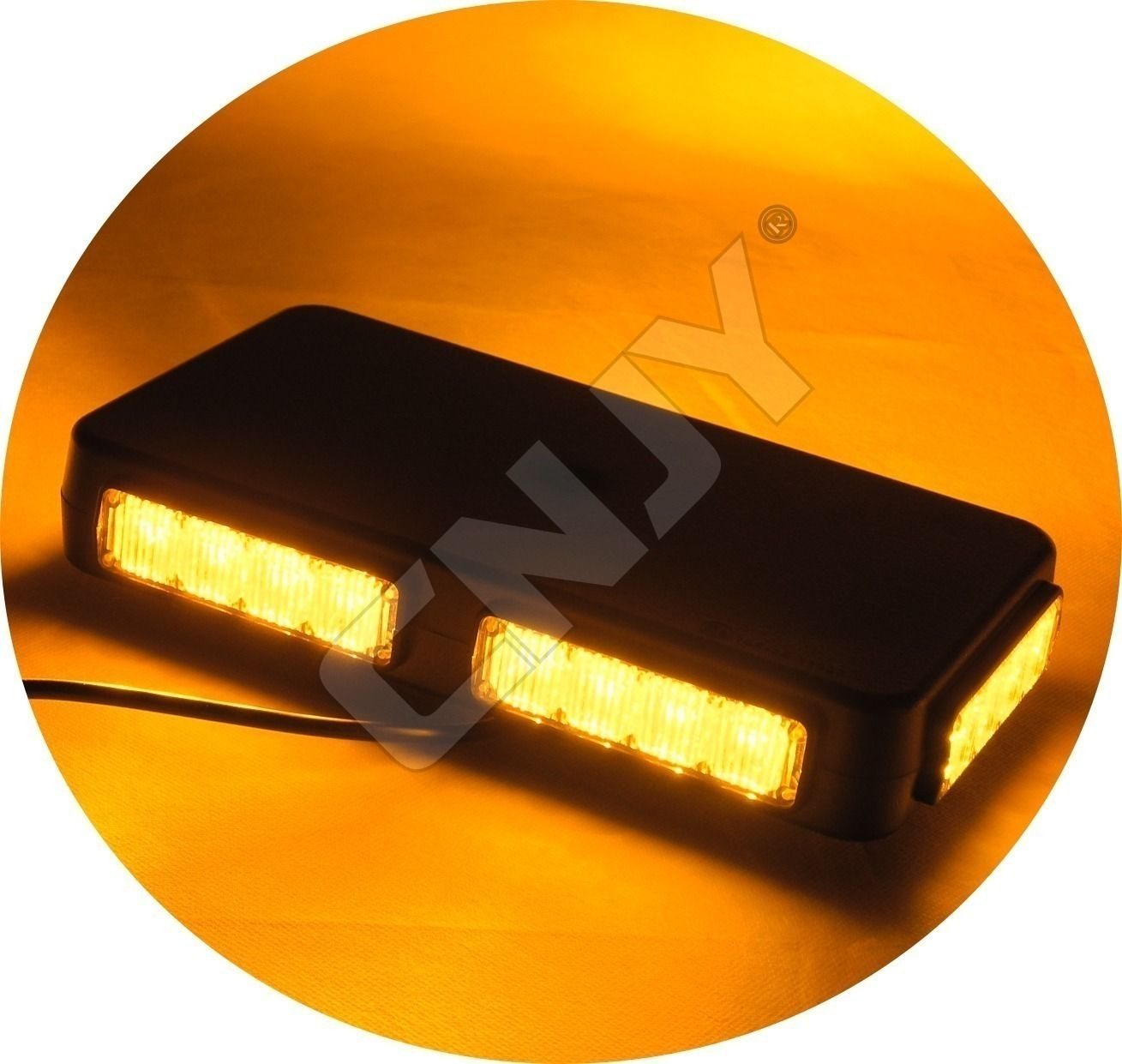 gyrophare,led,light,beacon,gyroled,bleu,blue,amber,green,orange,vert,aimante,fiche,allume,cigare,rotatif,flash,12v,24v,dc,homologué,e9,étanche,moto,camion,depanneuse,de toit