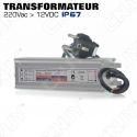 Convertisseur transformateur 220V 12V
