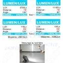 PROJECTEUR SPOT LED CNJY EXTERIEUR CE IP65 SMD 220V SECTEUR MAISON JARDIN GARAGE BLANC