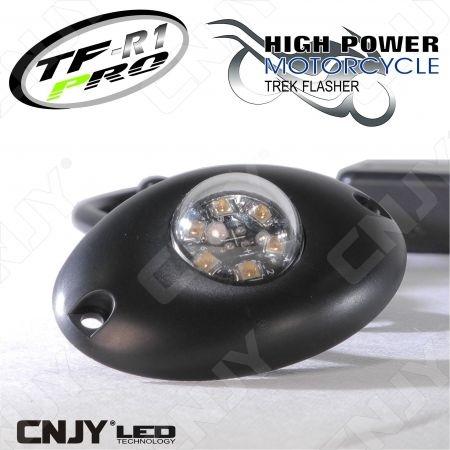 Feu à éclat led pénétrant ovale TF-R1 9W ECE R65 E9