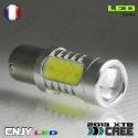 1 AMPOULE 45 LED CERAMIQUE BA15S CULOT COMPATIBLE R5W R10W P21W 1156