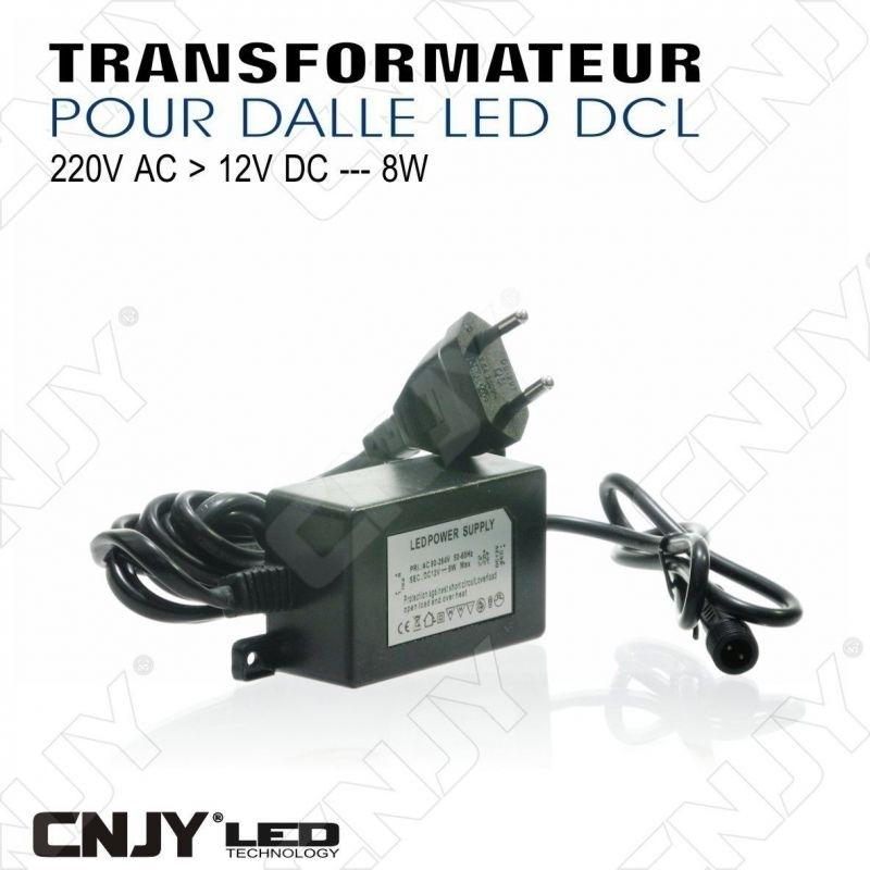 TRANSFORMATEUR CONVERTISSEUR DE TENSION 12V DCL 8W ou 30W