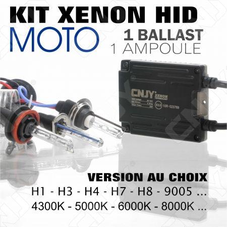 KIT XENON EN COFFRET CONVERSION HID MOTO --1 BALLAST - 1 AMPOULE-- AU CHOIX