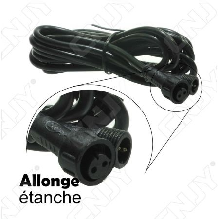 EXTENSION ALLONGE ETANCHE 200CM POUR DALLE LED DCL CNJY