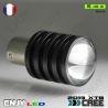 1 AMPOULE 11W LED HLU+CREE BA15S CULOT COMPATIBLE R5W R10W P21W 1156