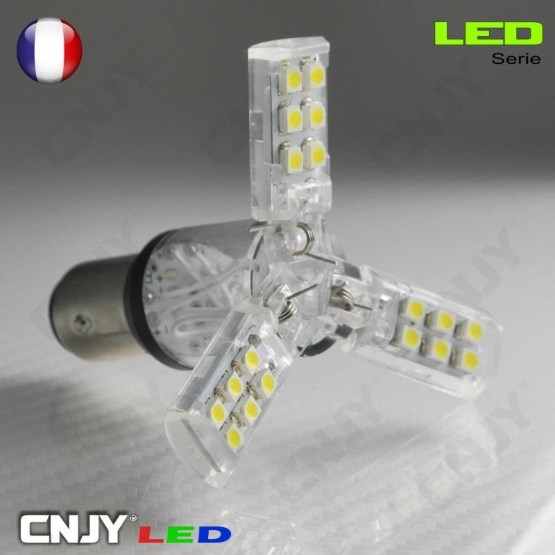 1 R5w R10w Ampoule P21w Culot Led Ba15s 1156 Triano Compatible WCrxoedB