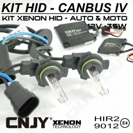 KIT XENON HID HIR2 9012 POUR TOYOTA YARIS HYBRIDE -AMPOULE & BALLAST 35W ou 55W SLIM CANBUS4 TECHNOLOGIE ANTI ERREUR ODB 2015 !!