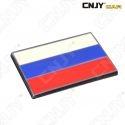 EMBLEME LOGO 3D ADHESIF DRAPEAU RUSSIE RUSSE RUSSIA FLAG AUTO ADHESIF CHROME BADGE PLASTIQUE ABS HAUTE RESISTANCE