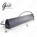 FEUX DE TRAVAIL PHARE LED GZER DOT12120 120w CREE XTB 12/24V DC