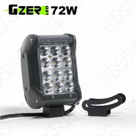 FEUX DE TRAVAIL XP-PRO CNJY LED 36W CREE WORKING LIGHT IP67 CAMION BATEAU 4x4 12 24V