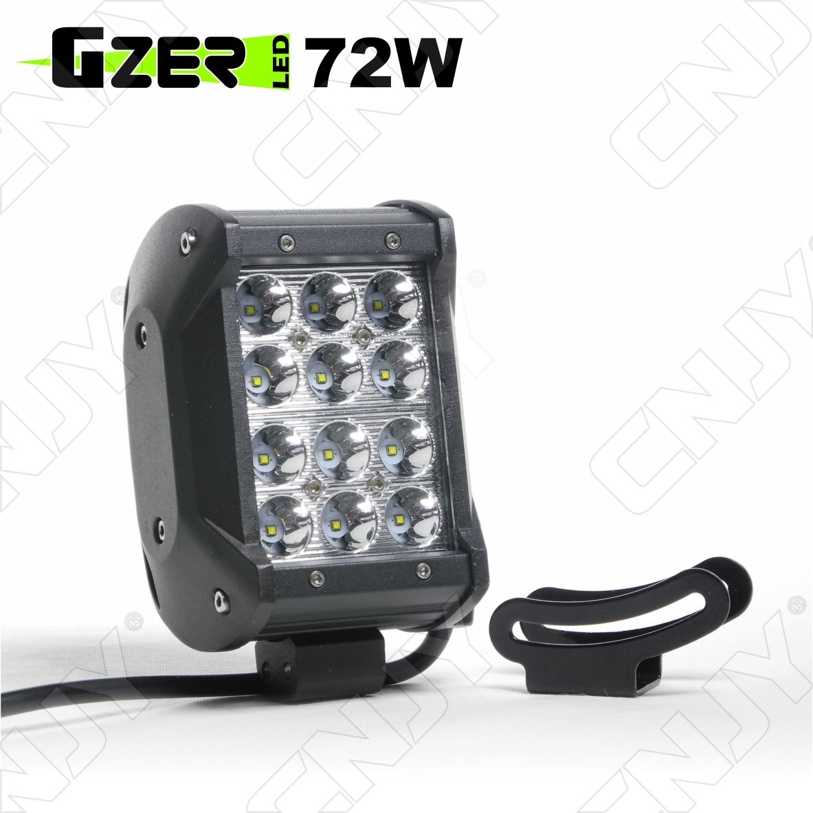 PHARE,DE,TRAVAIL,LED,4x4,BATEAU,CAMION,TRACTEUR,MINI,PELLE,PROJECTEUR,12V,24V,IP67,24W,WORKING,LIGHT,TRUCK,BOAT,CAR,WATERPROOF