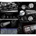 FEUX DE TRAVAIL XP-PRO CNJY LED 36W CREE WORKING LIGHT IP67 CAMION BATEAU 4x4 12 24V
