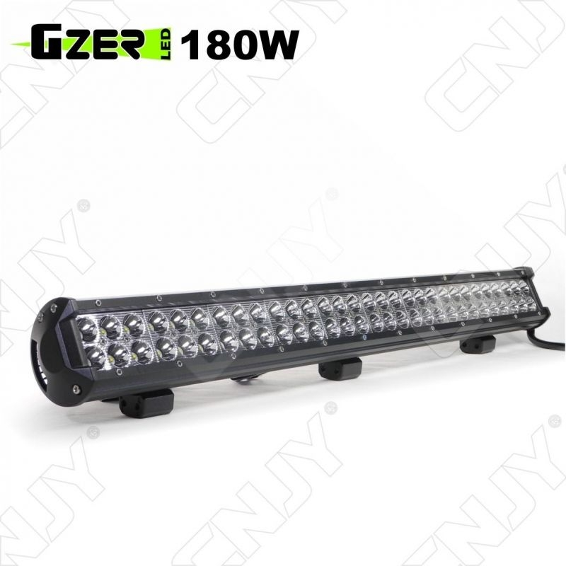 rampe de toit led longue portee feux de travail gzer cnjy led 180w cree usa ip67 camion bateau. Black Bedroom Furniture Sets. Home Design Ideas