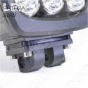 PHARE DE TRAVAIL FUTURA LED 80W BLACK WORKING LIGHT IP67 CAMION BATEAU 4x4 12V 24V