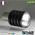 1 AMPOULE 45 LED CERAMIQUE CBS BAY15D CULOT COMPATIBLE P21/5W 1157 DOUBLE FILEMENT/CONTACT