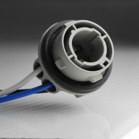 1 SOQUET POUR AMPOULE LED BAY15D CULOT P21/5W 1157