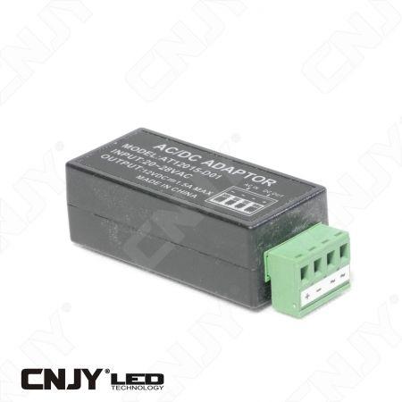 CONVERTISSEUR DE TENSION 24V AC : 12V DC - SORTIE MAX : 1.5AMP