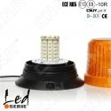 Gyrophare led elite orange 16W à visser 12v