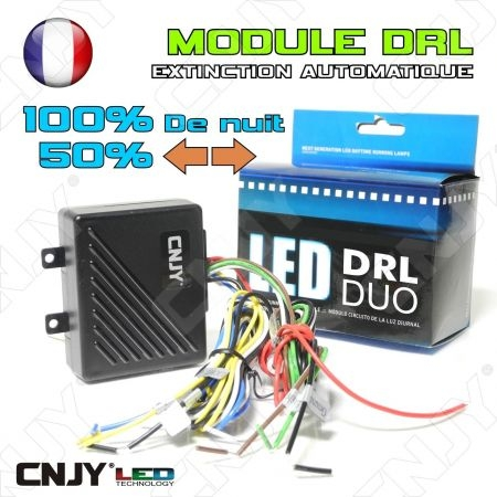Module DRL GEN4 DUO pour feux led blanc et orange 12V