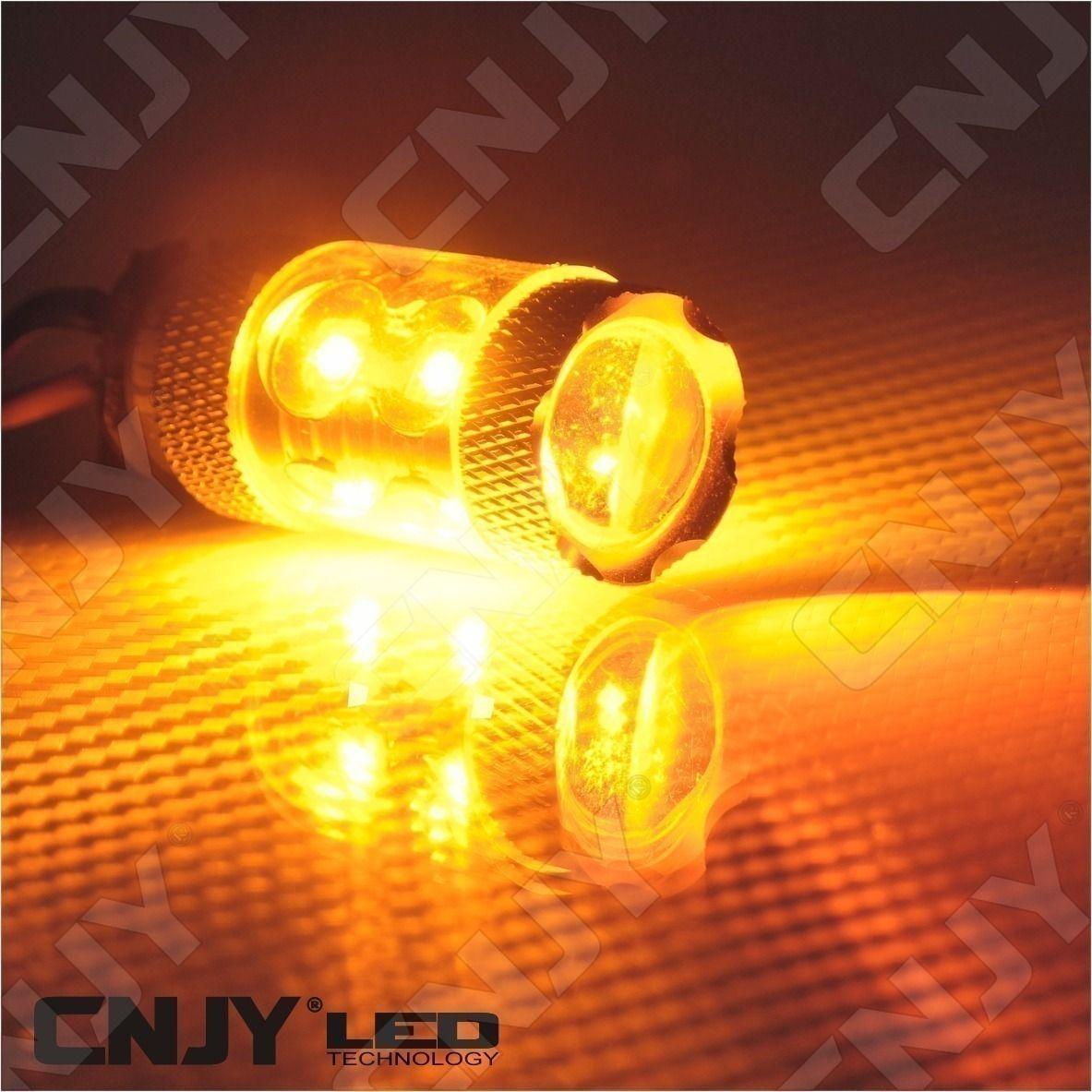 4f737151ae398 1 AMPOULES LED PWY24W 50W CREE ORANGE ANTI ERREUR ODB CANBUS POUR ...
