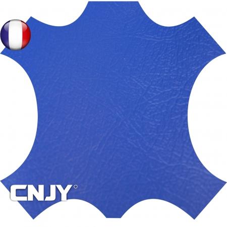 Rouleau de similicuir étanche bleu