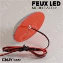 Feu led rouge ACT6R 12V