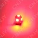 AMPOULE 5 LED SMD ROUGE T10 W5W 24V DC -CULOT W2.1x9.5D POUR VEILLEUSE, FEUX DE PLAQUE, GABARIT CAMION