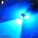 AMPOULE LED W5W T10 CREE 12V 24V bleu