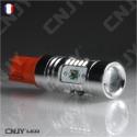 AMPOULE LED W5W T10 CREE 12V 24V rouge