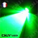 Veilleuse led w5w vert 12V 24V