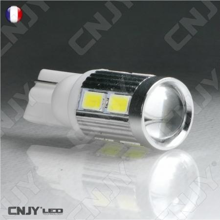 Ampoule led W5W T10 auto moto camion 12V 24V