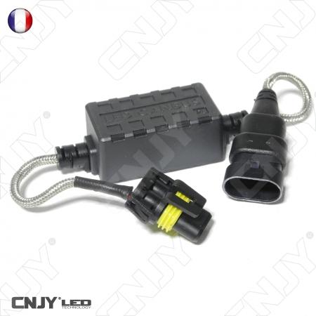 1 CABLE ANTI ERREUR & ANTI PARASITE H12 PZ20D -CANBUS - SUPPRIME LES DEFAUTS APRES MONTAGE DE KIT LED FEUX