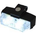 Feux à éclat led pénétrant à clips pour grille de calandre SWP4 12V 24V blanc