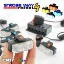 Feux de pénétration à clips pour grille de calandre SWP4 12V 24V