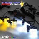 Feux de pénétration à clips pour grille de calandre démontage plug and play 12V 24V