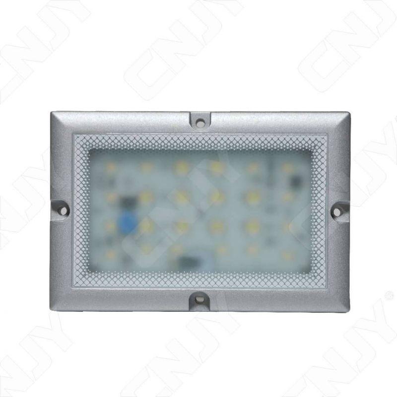 projecteur spot à led pour éclairage de station de travail industriel, machine outils,bateau,camion. Feux 24v blanc
