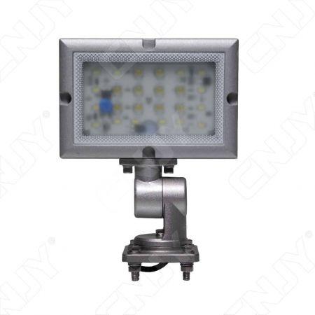 Projecteur led étanche Ip67 pour éclairage spot de station de travail industrielle. Feux sur pied orientable 24V DC Blanc .