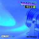 PROJECTEUR CNJY MAGIC GZER - SPOT RGB RVB MULTI COULEUR COLOR 10W 12V -DECORATION BAR AUTO TUNING DISCOTHEQUE