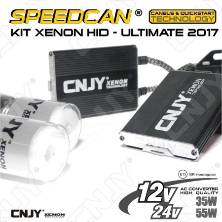 KIT DOUBLE XENON HID H4 P43T SPEEDCAN ULTIMATE
