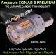 Ampoule Led orange Bau15S PY21W Sonar 8 canbus et anti clignotement rapide